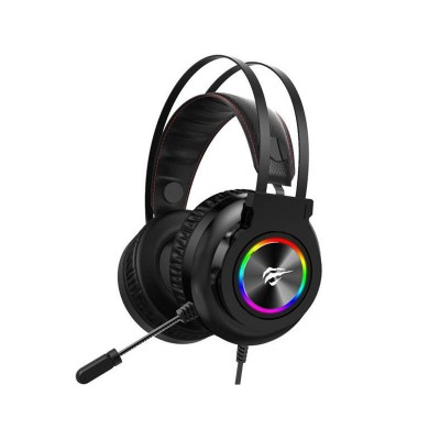 Headset Gaming Havit H654U RGB Preto