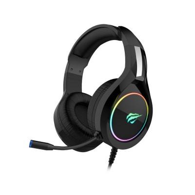 Headset Gaming Havit GAMENOTE RGB Preto (H2232D)
