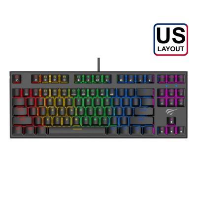 Gaming Keyboard Havit GAMENOTE RGB Black (KB857L)