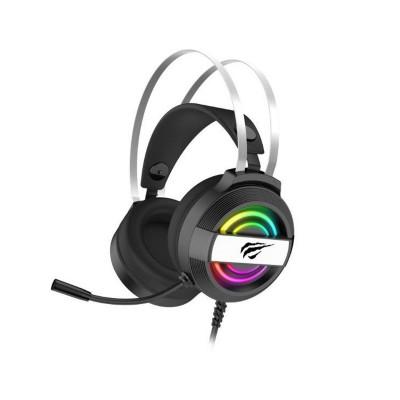 Headset Gaming Havit GAMENOTE RGB USB+3.5 mm Preto (H2026d)