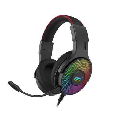 Headset Gaming Havit 7.1 RGB Preto (H2028U)