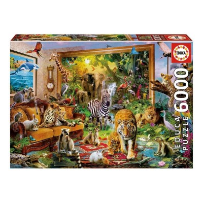 Puzzle EDUCA Entrar em Casa 6000 Peças (17679)