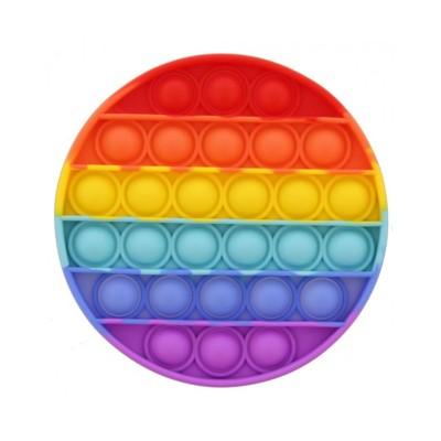 Round Bubble Sensory Toy Pop Bubbles Multicor