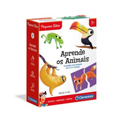 Jogo Clementoni Aprende os Animais (67616)