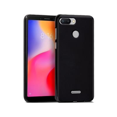 Funda Silicona Xiaomi Redmi 6 Negro