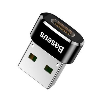Adapter Baseus USB-C to USB-A Black