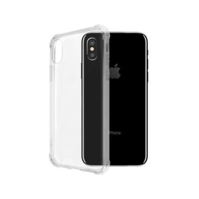 Capa Silicone iPhone X Okkes Jump Transparente