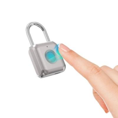 Padlock Blitzwolf w / Fingerprint Reader Silver (BW-FL1)