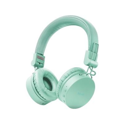 Auscultador Trust Bluetooth Tones Wireless Turquesa
