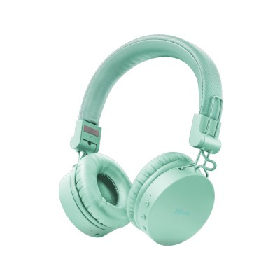 Headphone Trust Bluetooth Tones Wireless Turquoise