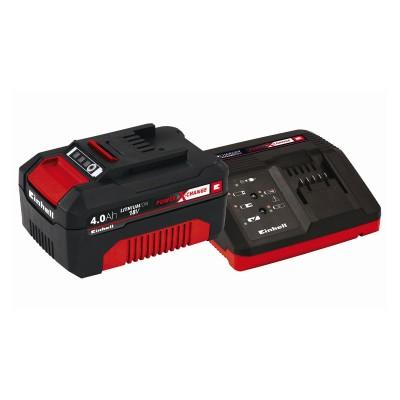Kit Einhell Power X Change 18V Starter 3Ah Negro/Rojo