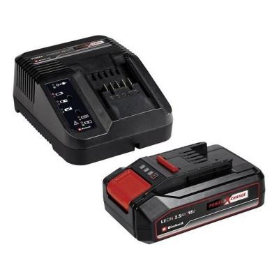 Carregador Einhell 1 Bateria 18V/2.5Ah Preto/Vermelho