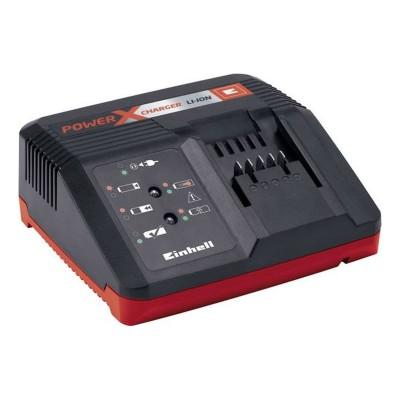 Carregador Einhell Fast Charger Power X-Change 18V Preto/Vermelho