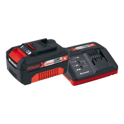 Kit Einhell Power X Change 18V Starter 4Ah Preto/Vermelho