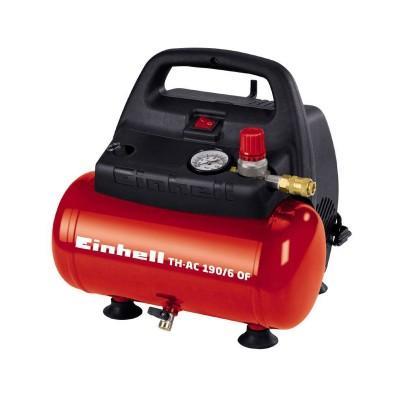 Compressor Einhell TH-AC 190/6 OF Vermelho/Preto