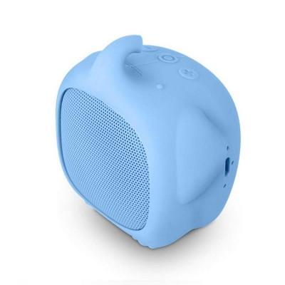 Coluna Bluetooth SPC Sound Pups Elephant Azul