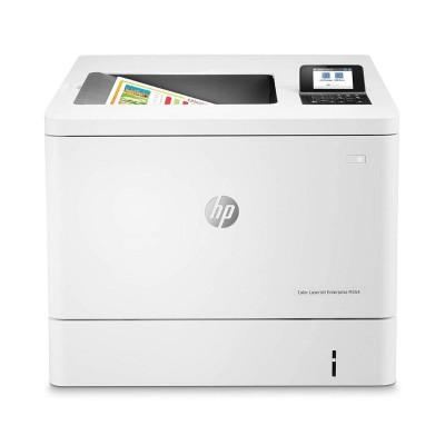 Impressora HP LaserJet Enterprise M554DN Duplex Branca
