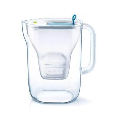 Water Jug Brita Style PP 2.4L Blue