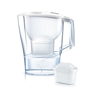 Jarro Purificador de Água Brita Aluna PP 2.4L Branco