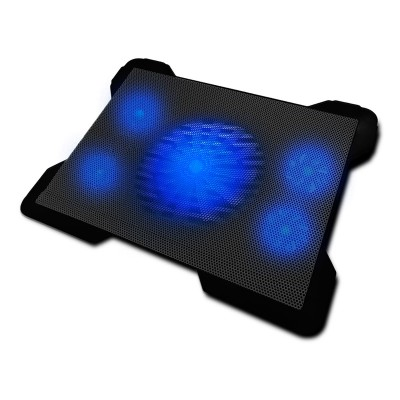 """Cooling Pad Woxter Laptop Cooling 17"""" Blue LED"""