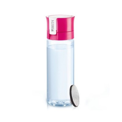 Bottle of water Brita Fill & Go 600ml Pink