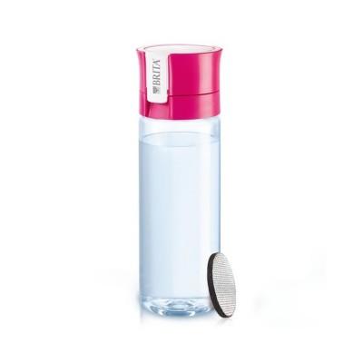 Garrafa Purificadora de Água Brita Fill & Go 600ml Rosa
