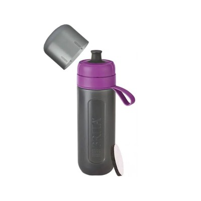 Bottle of water Brita Fill & Go Active Sport 600ml Purple