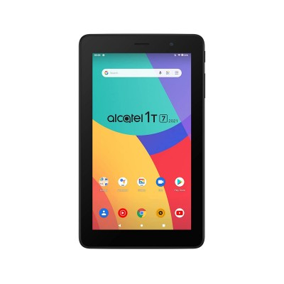 """Tablet Alcatel 1T 2021 9309X 7"""" 16GB/1GB Wi-Fi Preto"""