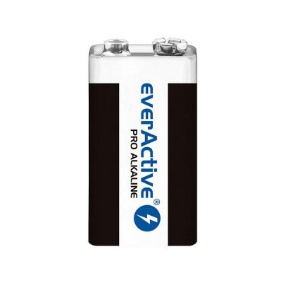Pro Alkaline Battery EverActive 9V 6LR61