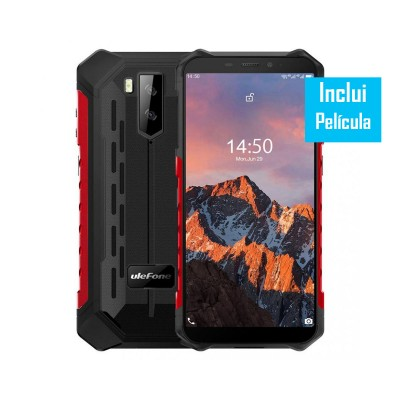 Ulefone Armor X5 Pro 64GB/4GB Dual SIM Vermelho