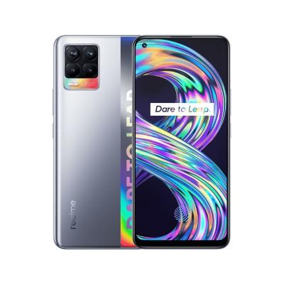 Realme 8 128GB/6GB Dual SIM Prateado