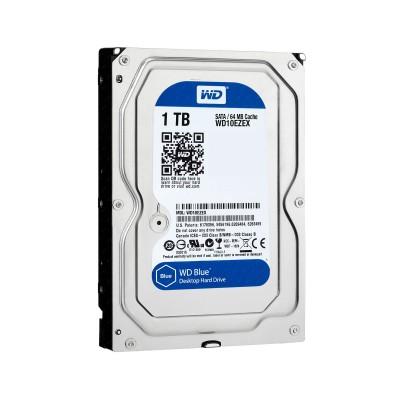 """Hard drive Western Digital Blue 1TB 3.5"""" 7200RPM 64MB (WD10EZEX)"""