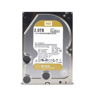 "Hard drive Western Digital Gold 2TB 3.5"" 7200 RPM 128MB (WD2005FBYZ)"