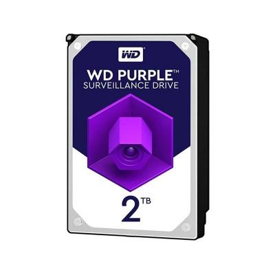 """Hard drive Western Digital Purple 2TB 3.5"""" 5400RPM 64MB (WD20PURZ)"""
