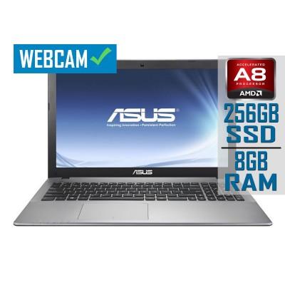 "Laptop Asus X550DP 15"" A8-5500M SSD 256GB/8GB Refurbished"