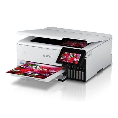 Multifunction Printer Epson Ecotank ET-8500 Wi-Fi/Duplex White