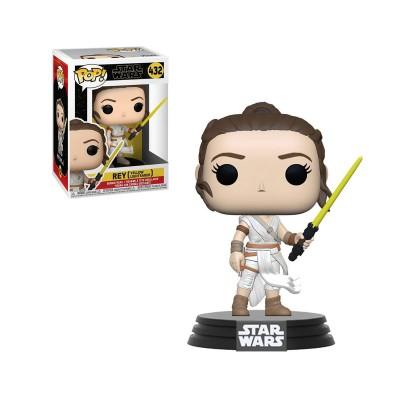 Funko Pop Star Wars Rey with Yellow Lightsaber