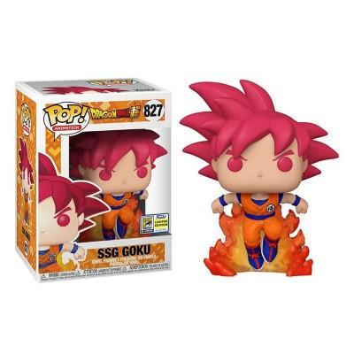 Funko Pop Dragon Ball Super - Super Saiyan God Goku Exlusive