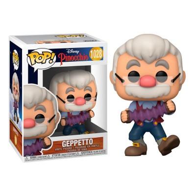 Funko Pop Disney Pinocchio Geppetto with Accordion
