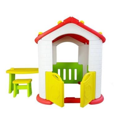 Casa de Brincar c/Mesa e Cadeiras 160x115x100cm (Unidade de Exposição)
