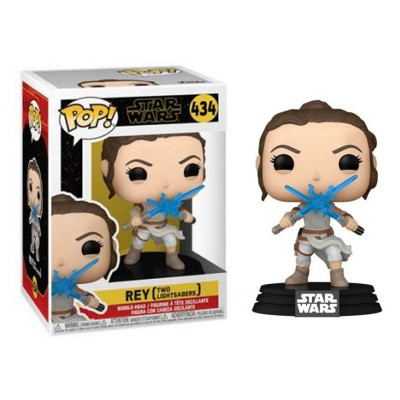Funko Pop Star Wars The Rise of Skywalker Rey with Light Sabers