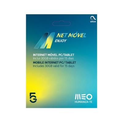 Cartão Internet Móvel MEO Enjoy 5G 15 Dias