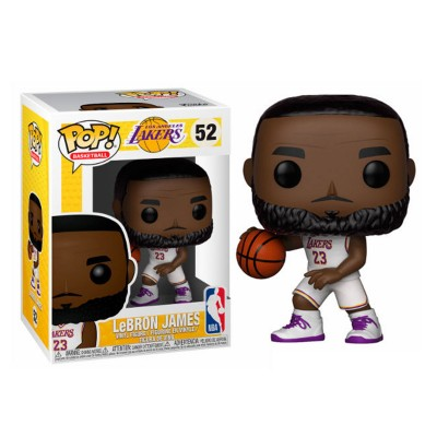 Funko Pop NBA Lebron James White Uniform