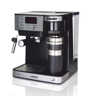 Máquina de Café Haeger Multi Coffee Preta
