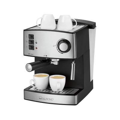 Coffee Machine Clatronic Steam Pressure ES3643 Black