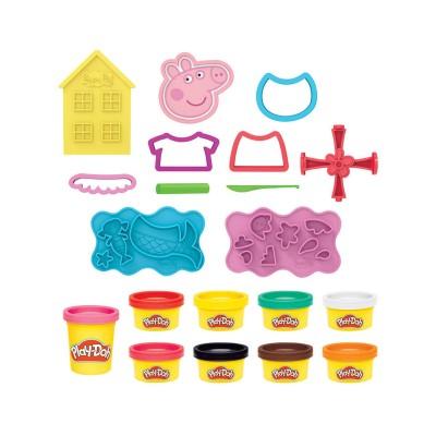 Jogo Play-Doh de Plasticina Porquinha Peppa - Cria e Desenha