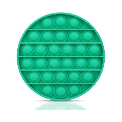 Brinquedo Sensorial de Bolhas Redondo Push Verde