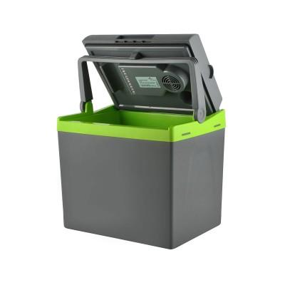 Electric Portable Cooler HQ 5233 30L Grey/Green