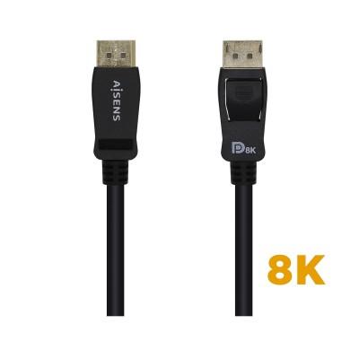 Displayport Cable Aisens 8K 3m Black (A149-0433)