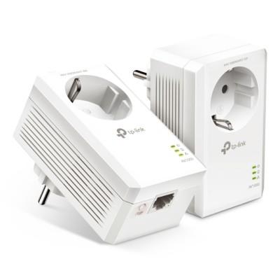 PowerLine TP-Link AV1000 Gigabit Passthrough Starter Kit (TL-PA7017P KIT)